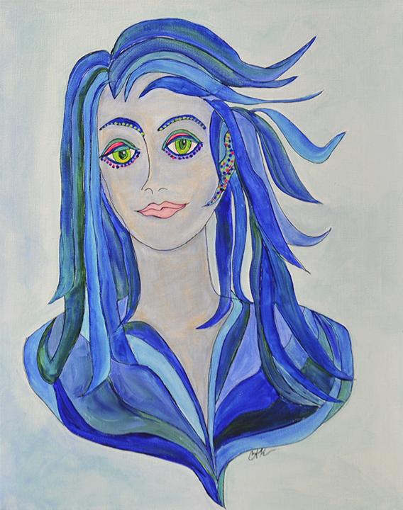 Priscilla Blue