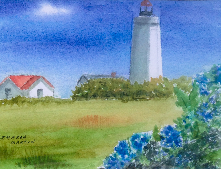 Fenwick Lighthouse in Old Saybrook