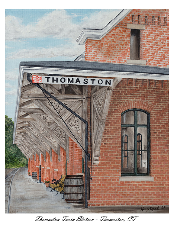 Thomaston Train Station