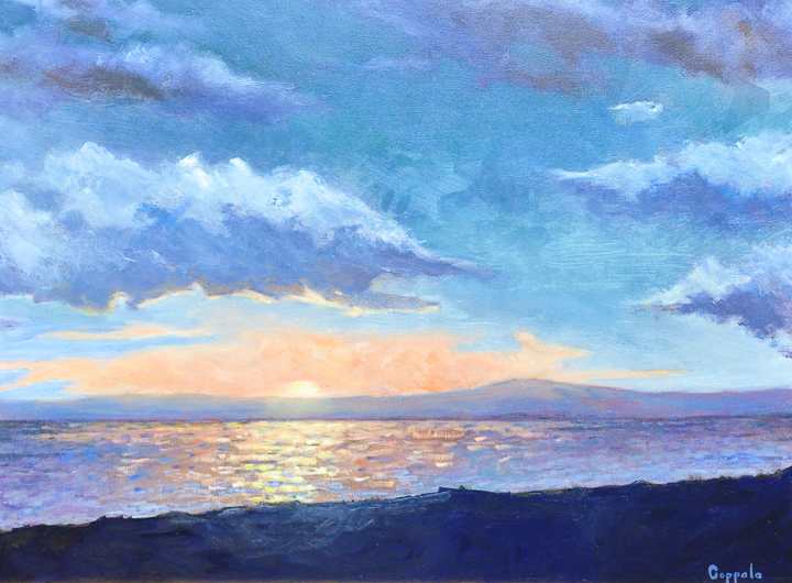 """Sunset"" oil"