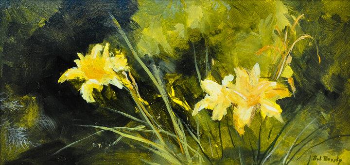 """Lilies"" acrylic"