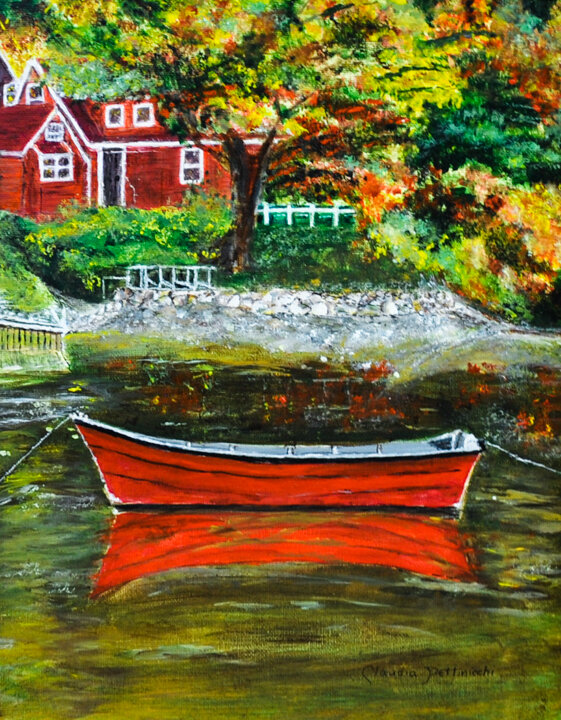 """""""Red Boat"""" acrylic"""
