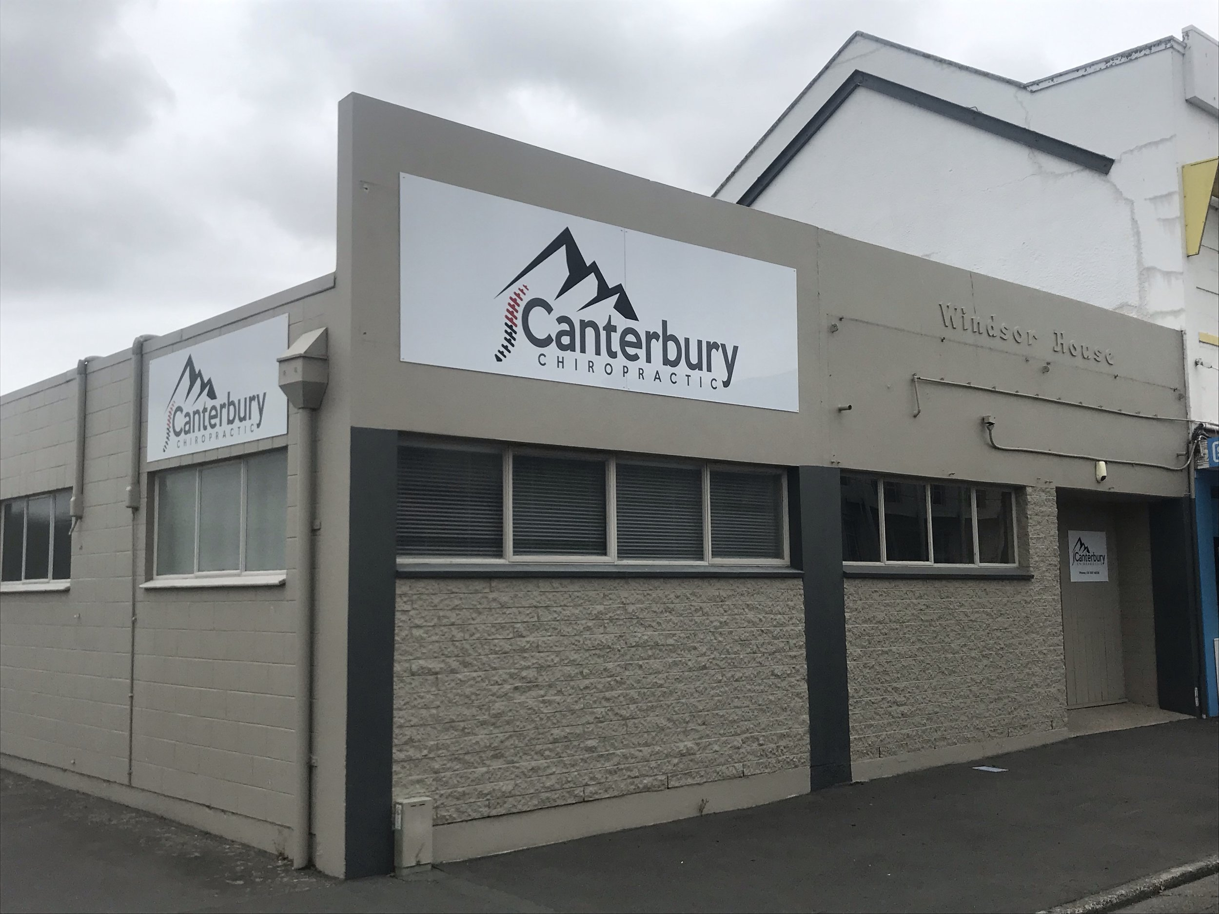 Our Practice - We are located in Windsor House, 246 Havelock St Ashburton.There is free onsite parking and plenty of street parking also.
