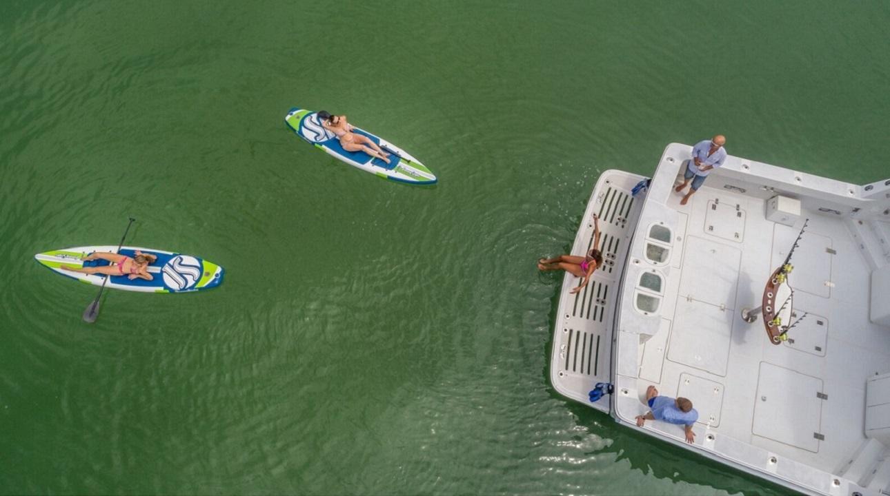 Paddle Boards & Swim Deck