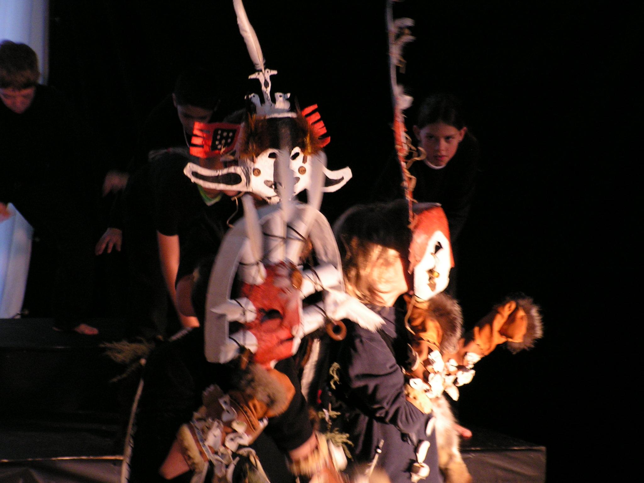 JCCS AIS 2005 - Luke Brockmann, Franklin Rones, and Nicholas Tragis as the shamans.jpg
