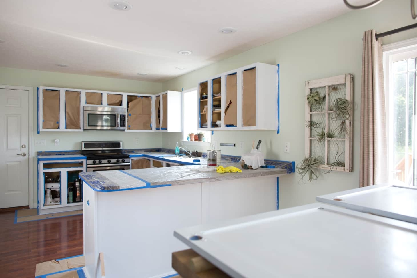Professional Kitchen Painting - Roughneen Paint Finishes