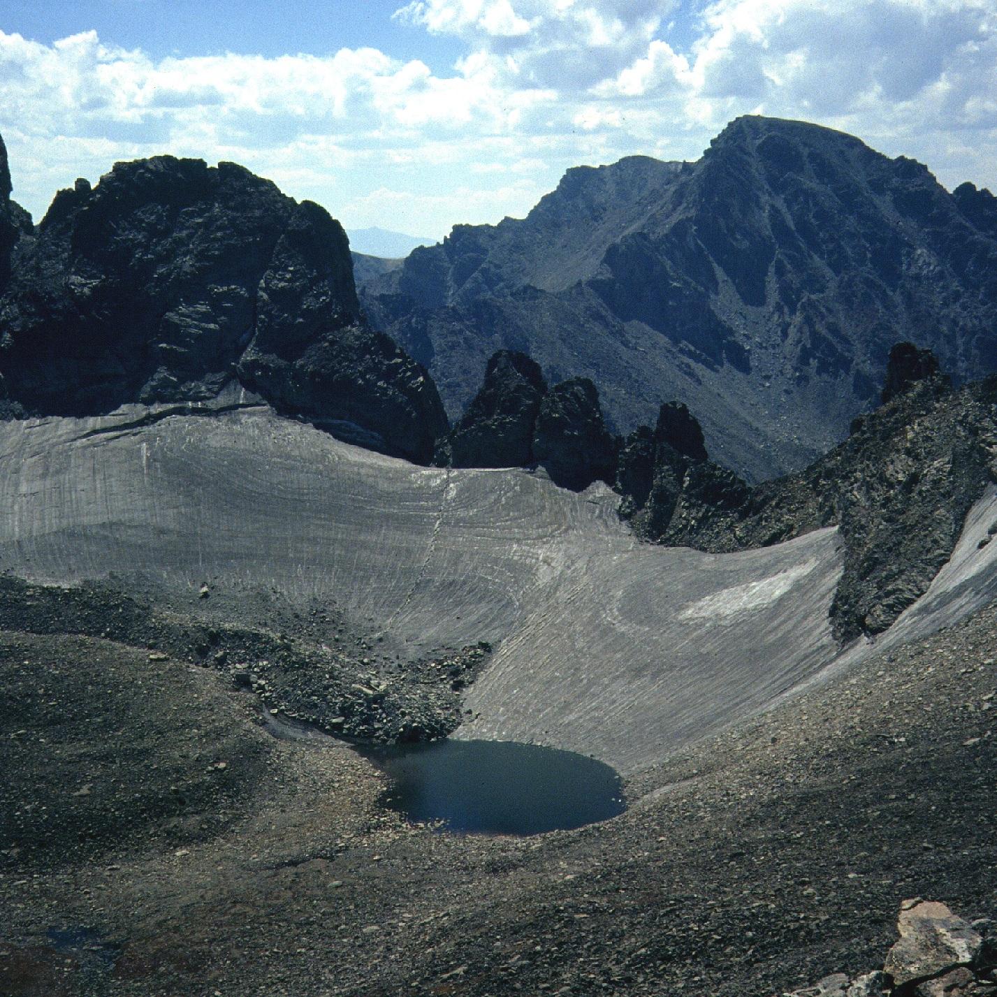 3798meters - Height of the Arikaree Glacier (12,460 feet!)