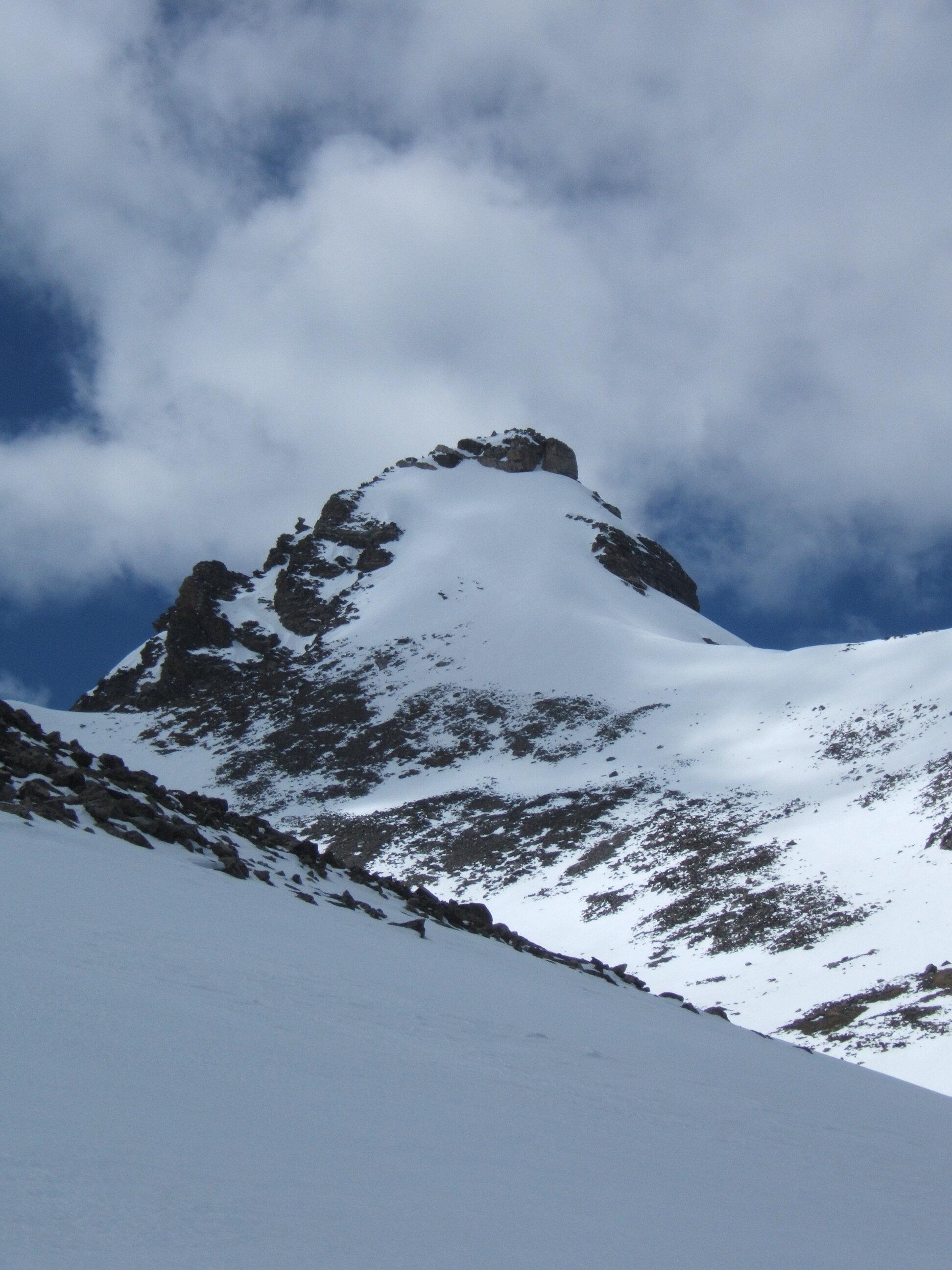 Niwot Ridge during the annual snow survey (2005)
