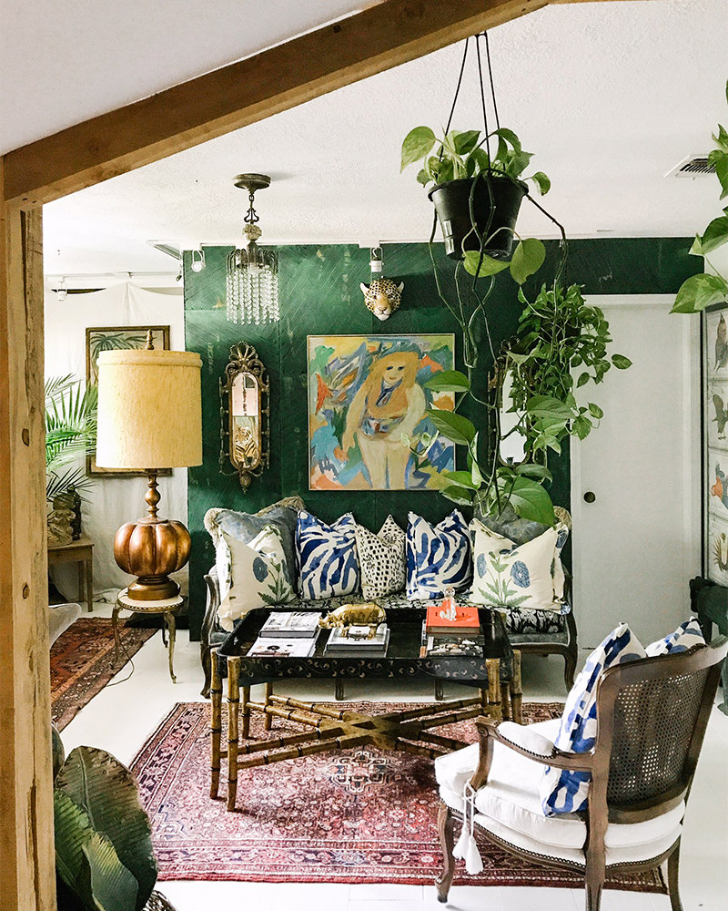 Lanai in Jungle - Styled by Judy Aldridge/Atlantis Home, Texas
