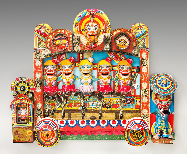 """Clone Clown Carnival  25""""l x 29.5""""w x 3.75""""d"""