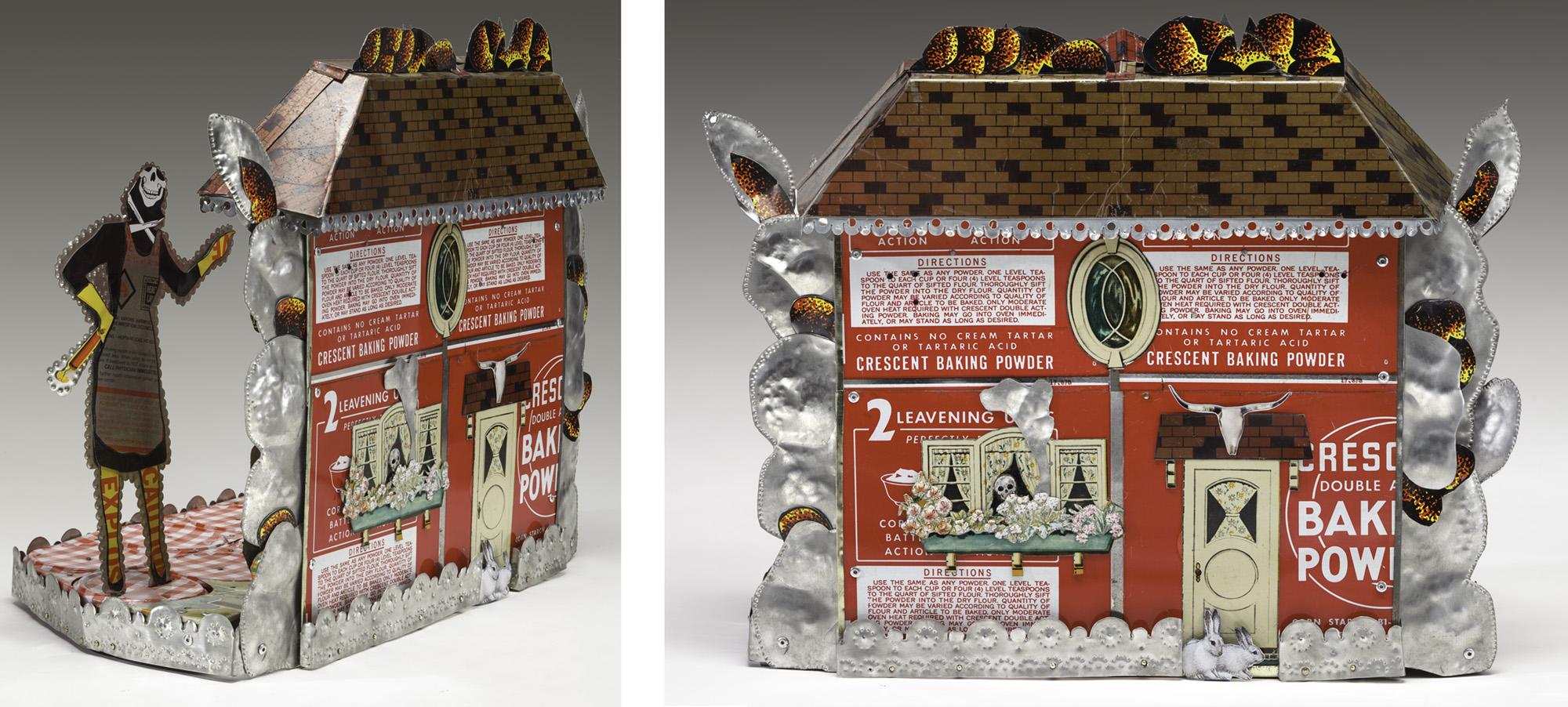"Detail: Home's Cookin'  15.5""l x 20""w x 10""d"