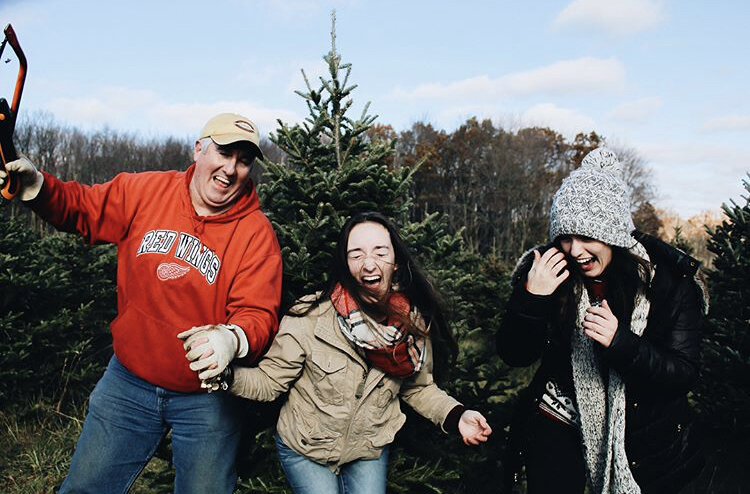 Cutting Down a Christmas Tree — Travel