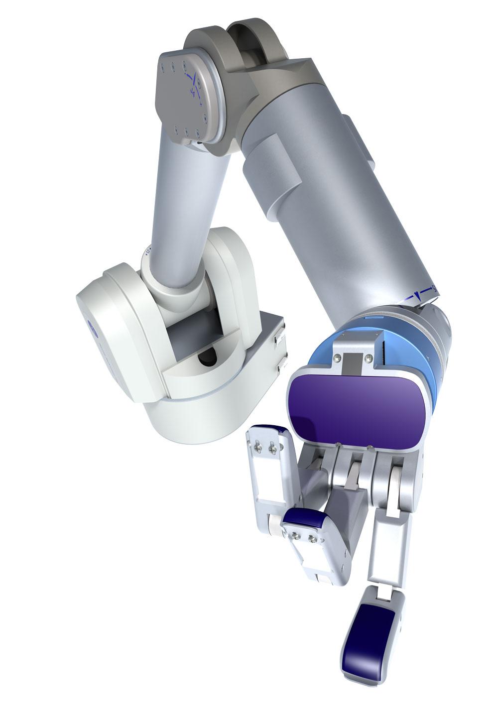 In 2010 Barrett exceeds $40m in worldwide sales of robots.