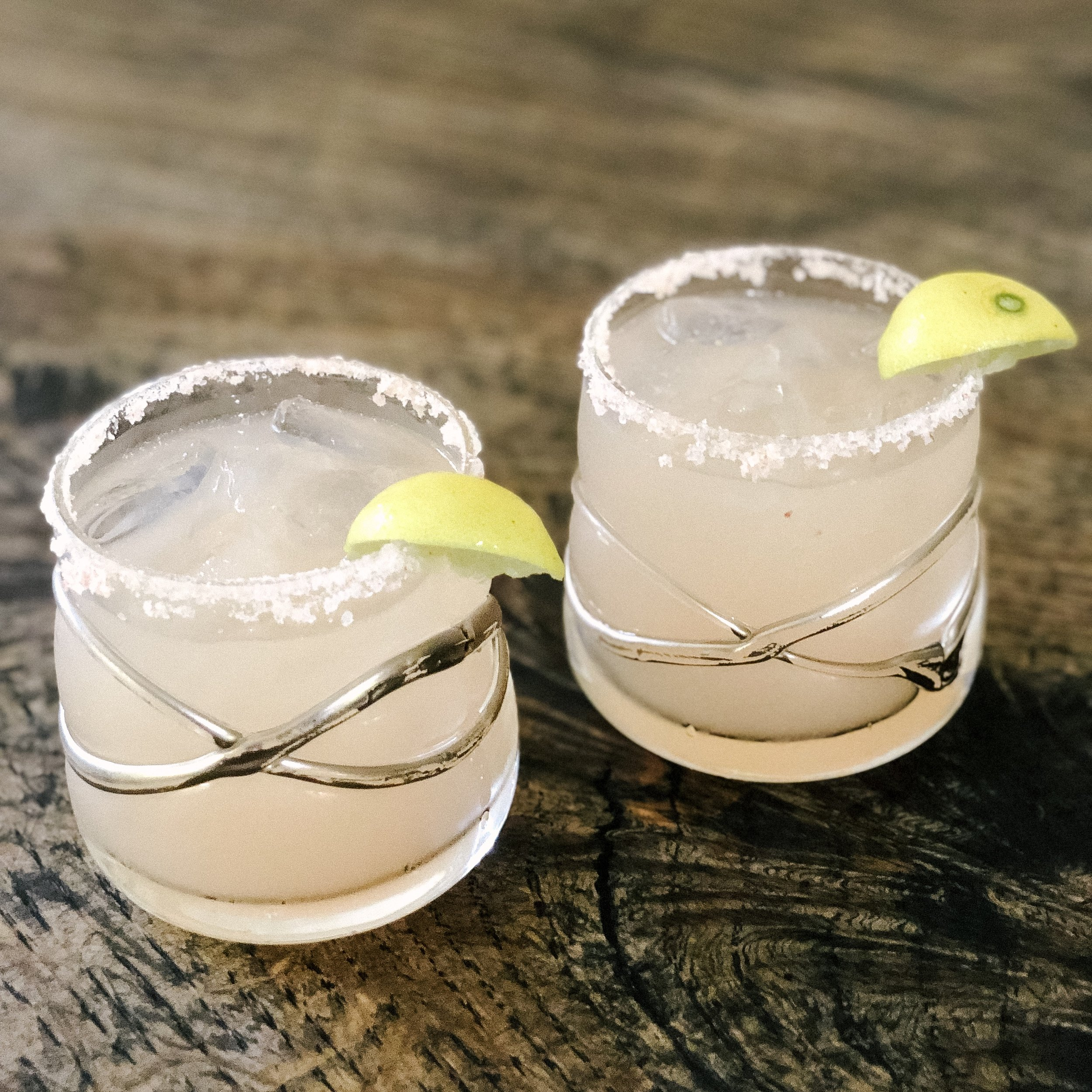 Healthy Margarita! - * Salt rim with Himalayan pink salt* 1 shot of tequila* 1 part Simply Limeade juice* 1 part Simply Grapefruit juice* Fresh lime