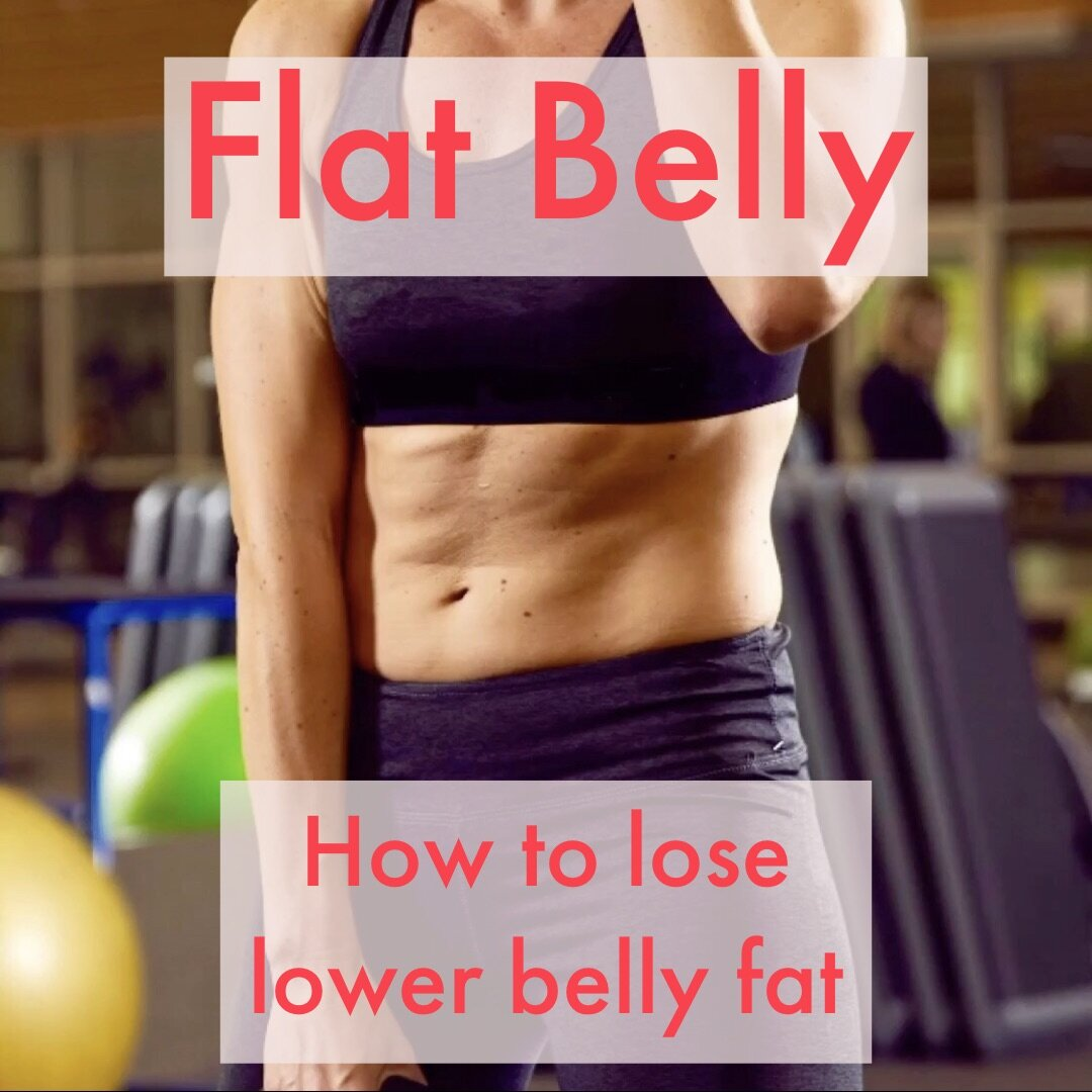 Flat Belly - #Nutrition #StrengthTraining #HIIT #HealthyLifestyle