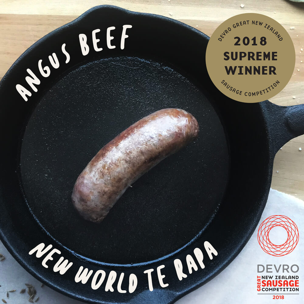 2018 Supreme Winner (joint winner) - New World Te Rapa: Angus Beef