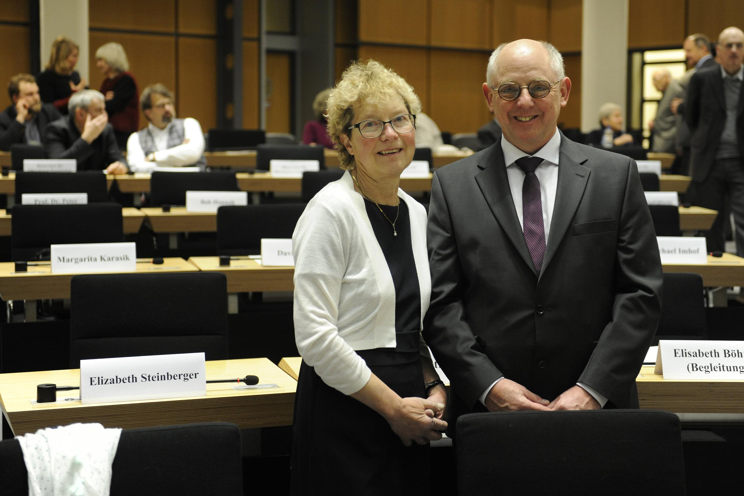 Martina and Hans-Dieter Graf