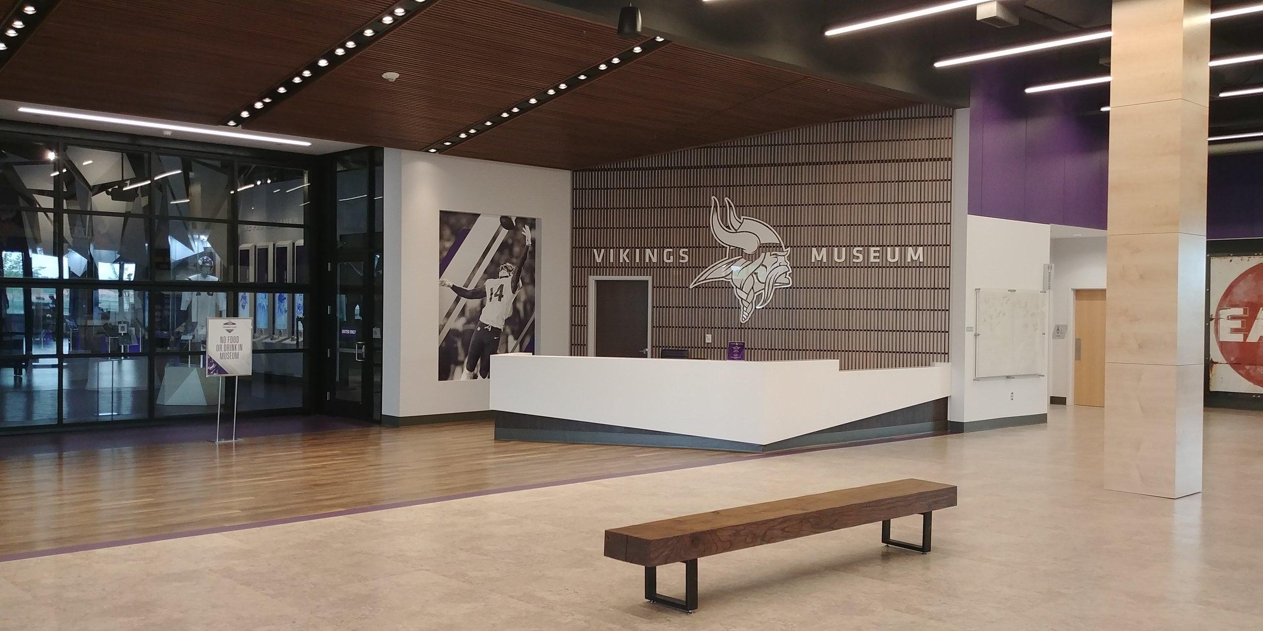 Vikings Museum & Team Store   Eagan, MN