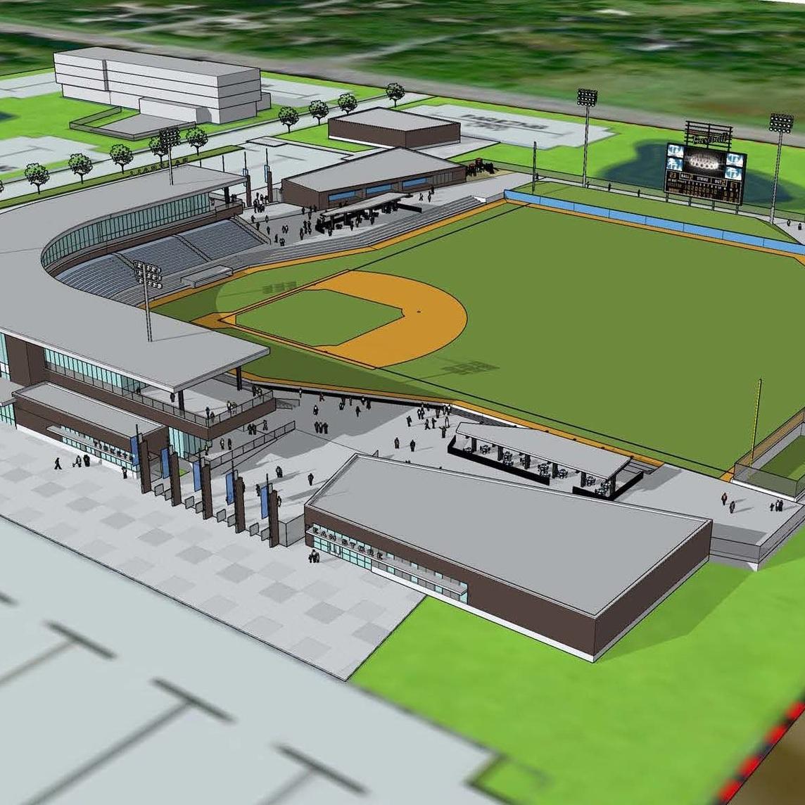 Minor League Ballpark Design Concept