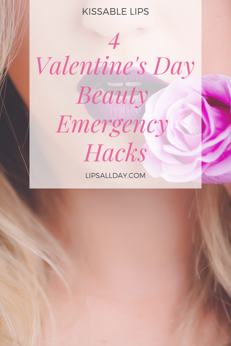 Got a Valentine's Day beauty emergency? Here's what to do.