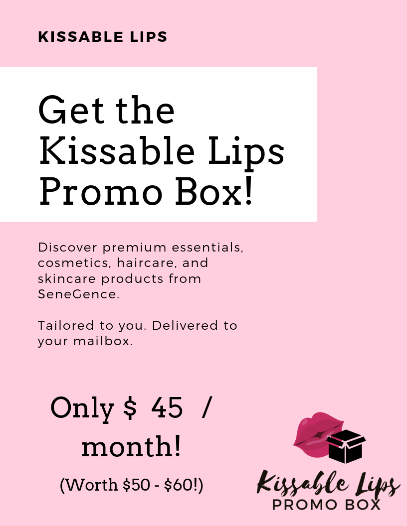 Senegence Subscription Box | Kissable Lips, Leslie Henderson, San Diego SeneGence Distributor