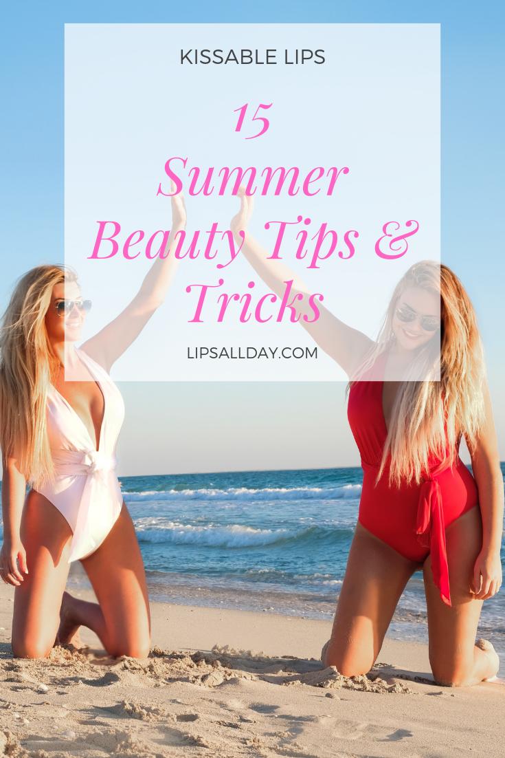 The best summer beauty tips & tricks Kissable Lips, Leslie Henderson, San Diego SeneGence Distributor