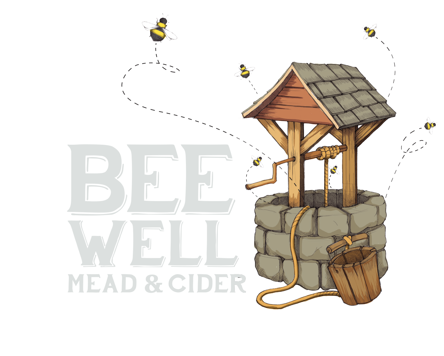 Bee Well Logo_Final_Mead&Cider white.png