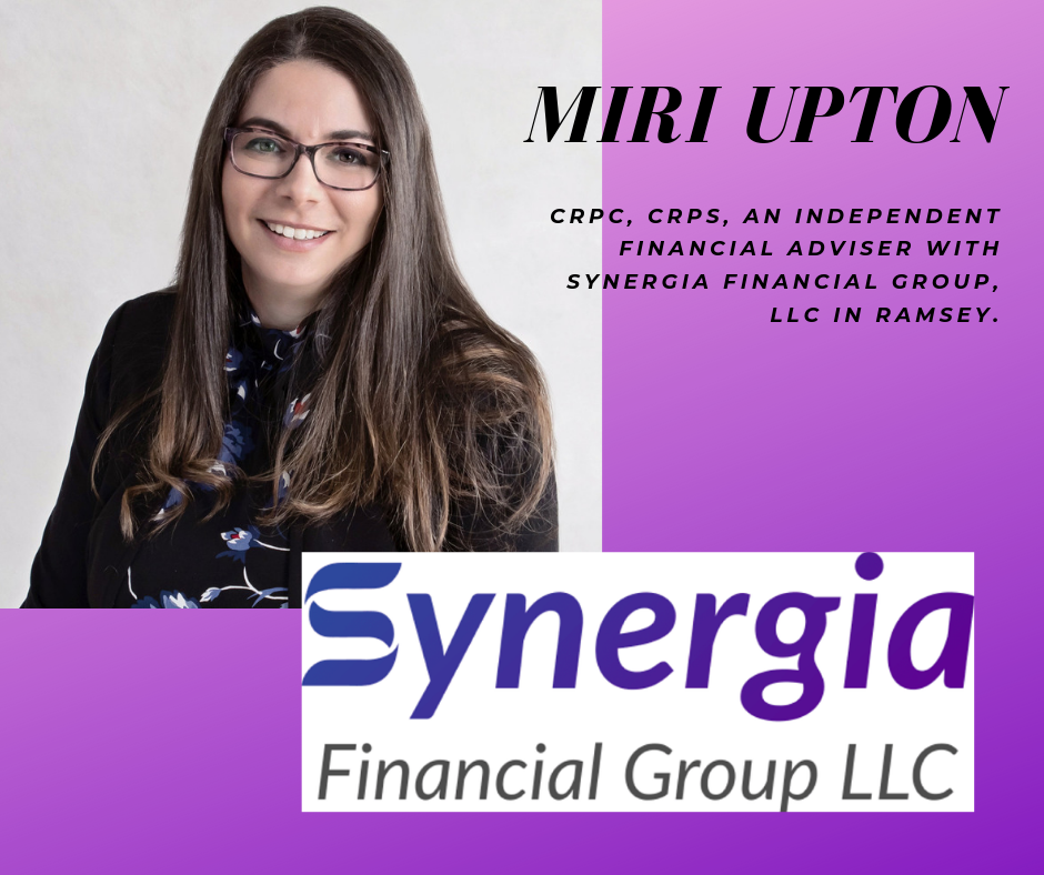MIRI UPTON  - Synergia Financial, Certified Financial Planner