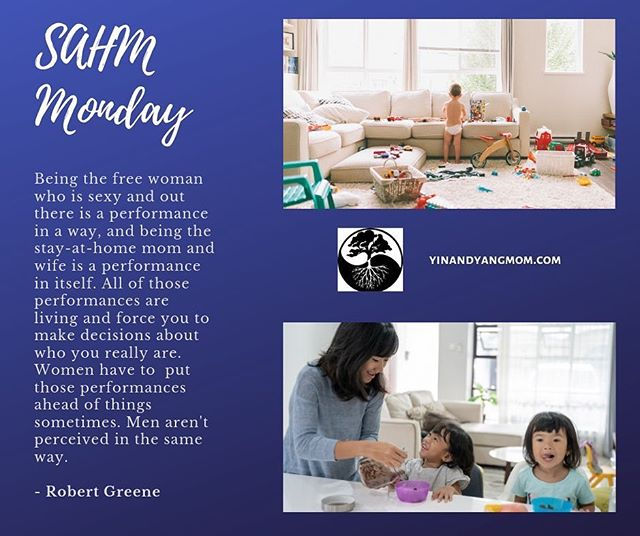 "It's SAHM Monday!  Sorry I missed last weeks themed days!  Came across this quote and I think it applies to all of us but I wanted to share it today for SAHM Monday! ""Creating a life that reflects your values and satisfies your soul is a rare achievement. In a culture that relentlessly promotes avarice and excess as the good life, a person happy doing his own work is usually considered an eccentric, if not a subversive.  Ambition is only understood if it's to rise to the top of some imaginary ladder of success.  Someone who takes an undemanding job because it affords him the time to pursue other interests and activities is considered a flake.  A person who abandons a career in order to stay home and raise children is considered not to be living up to his potential — as if a job title and salary are the sole measure of human worth.  You'll be told in a hundred ways, some subtle and some not, to keep climbing, and never be satisfied with where you are, who you are, and what you're doing. There are a million ways to sell yourself out, and I guarantee you'll hear about them.  To invent your own life's meaning is not easy, but it's still allowed, and I think you'll be happier for the trouble."" Bill Watterson. . #motherhoodunplugged #motherhoodrising #motherhoodsimplfied #momsofinstagram #reneejensen #yinandyangmom #newbaby #postpartum #postpartumdepression #mentalhealthawareness #mindsetiseverything #sahmlife #pregnantbelly #bossmom #specialneeds #momofteens #middleschool #elementaryschool #newmomlife #emptynesters #newmommy #childbirth #stayathomemom #sahmlife #sahmproblems #sahmprobs #momsareawesome #mondaymadness"