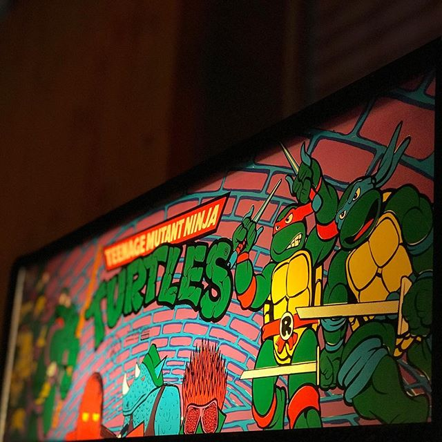 It's Turtle Time! 🐢🕹 #bartronica #arcadebar #melbourne #melbournecbd #melbournetodo #melbournebars #tmnt #flinderslane #melbournenightlife
