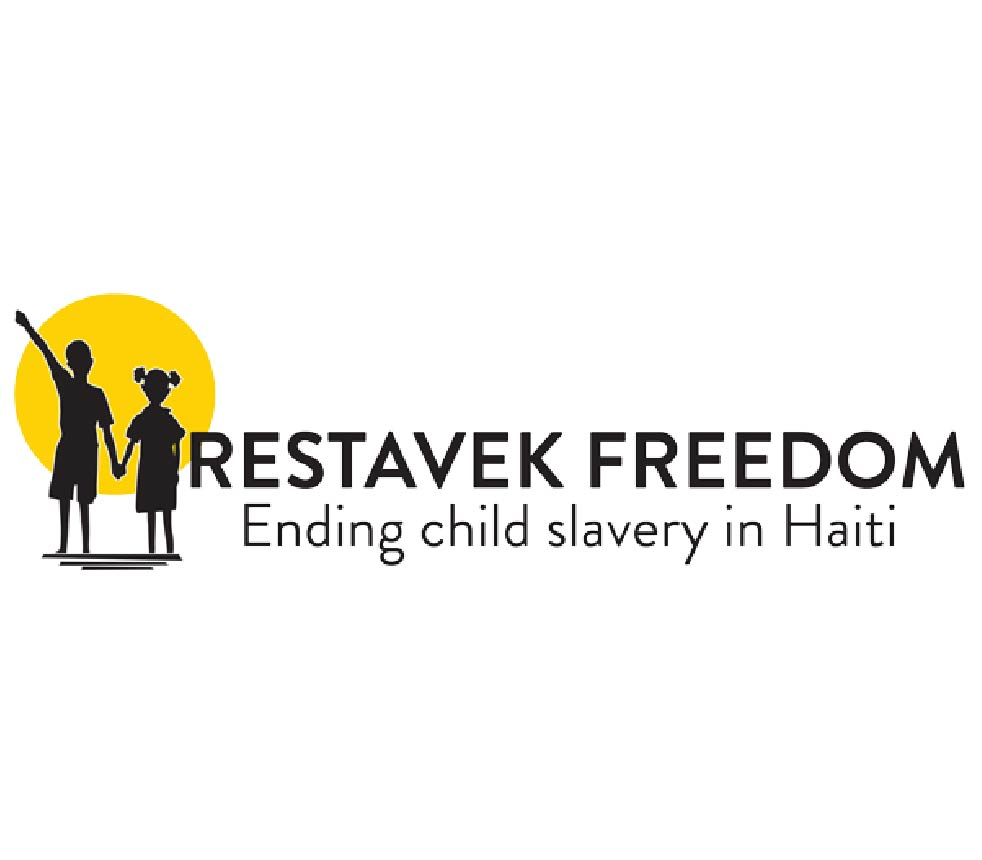 """Partner - Restavek Freedom is a non-profit dedicated to ending child slavery in Haiti. """"Restavek"""" is a Haitian term referring to an exploited child abused for labor."""