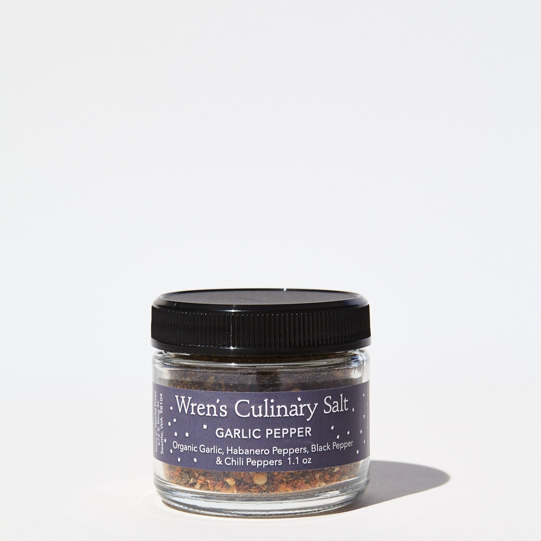Wren's Organic Garlic Pepper