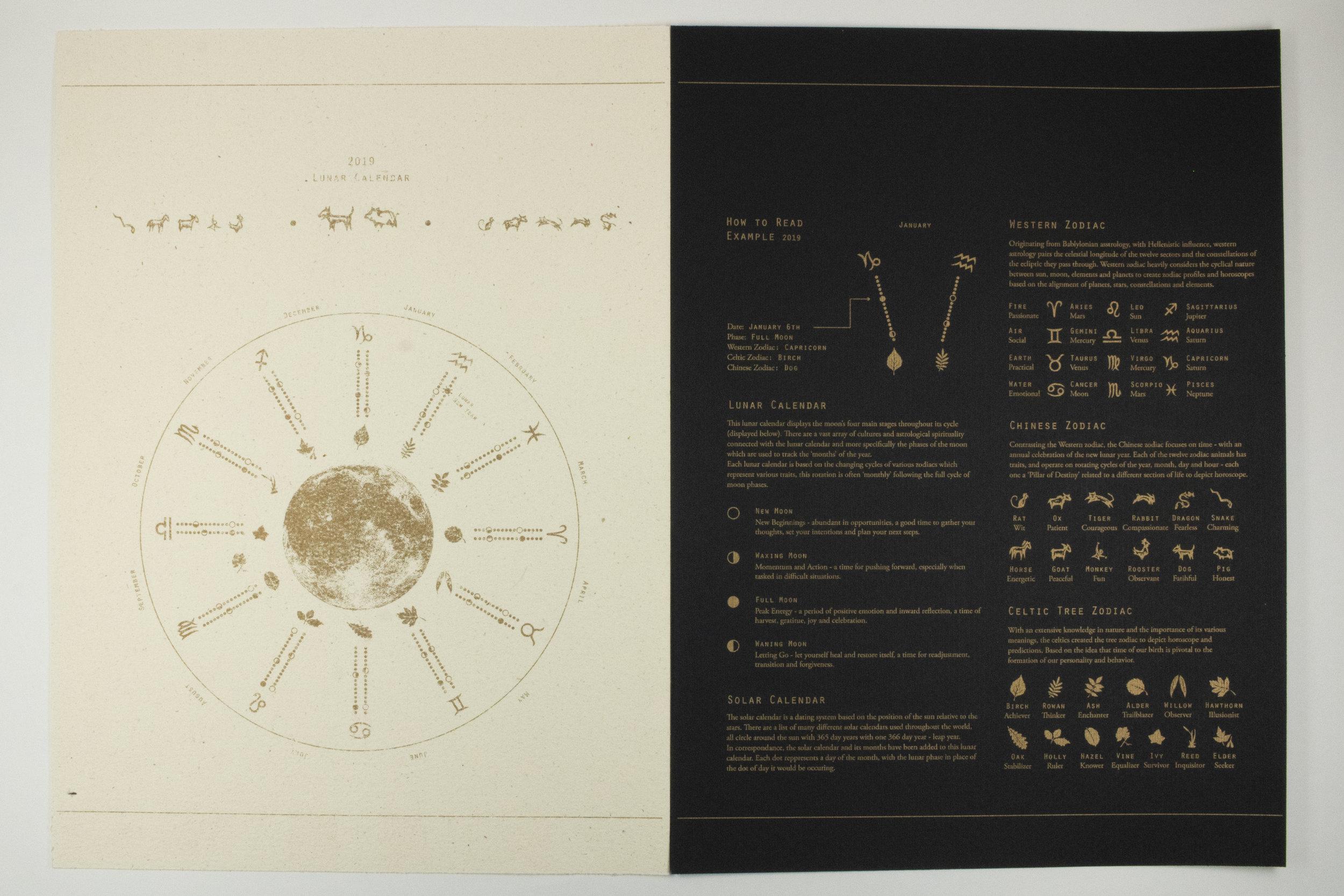 lunar calendar — Paojia Tang