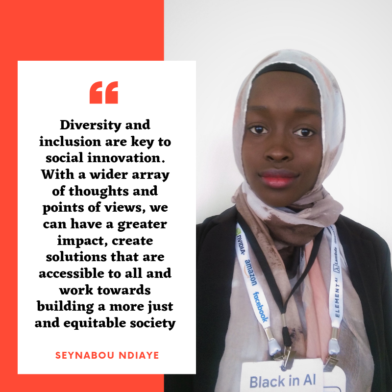 Seynabou Ndiaye - During her last year at Concordia, Seynabou became a founder at Aquantix, a Montreal based startup, that aims to ensure that the quality of fresh water sources remains good for future generations. Prior to founding Aquantix, she got involved in other projects whose goals were providing sustainable solutions to global issues. She believes in using AI for social good and aims to use her knowledge in both Mathematics and Computer Science to push for the development of Aquantix. Originally from Senegal, a country suffering from lack of access to water and sea level rise, Seynabou takes the issue of climate change and water scarcity to heart.Follow Seynabou's C2 journey on Instagram @urbana.marketing !