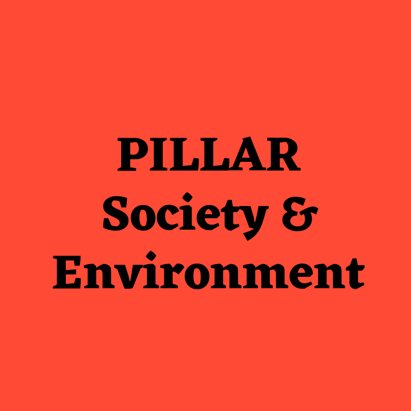 PILLAR 5 - Under the Society & Environment pillar, the linear moves towards the circular, the capitalist moves towards a social economy, and from plastic we move towards zero-waste. Creativity and culture play an integral role in transforming smart cities that fight climate change and move towards sustainability. It's time we stop thinking with just our minds and listen more closely to our bodies in order to build stronger, more collaborative living ecosystems.Follow Paula Julieth Rueda & Phoebe Changuita as they navigate through this pillar!