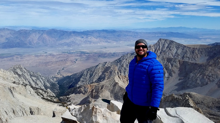 Summit of Mt. Whitney @ 14,508 feet, Sequoia National Park