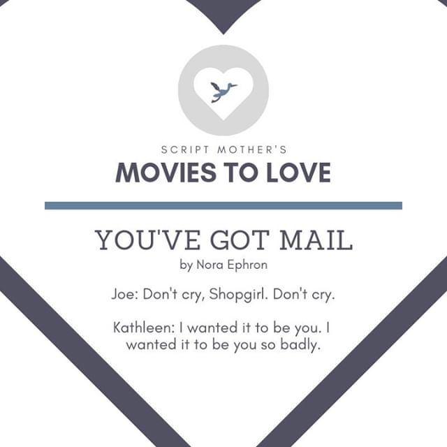 It's Day 1 of Script Mother's 10 Movies to Love This Valentine's Day! We're throwing it back to 1998 with #YouveGotMail. Who's seen it?