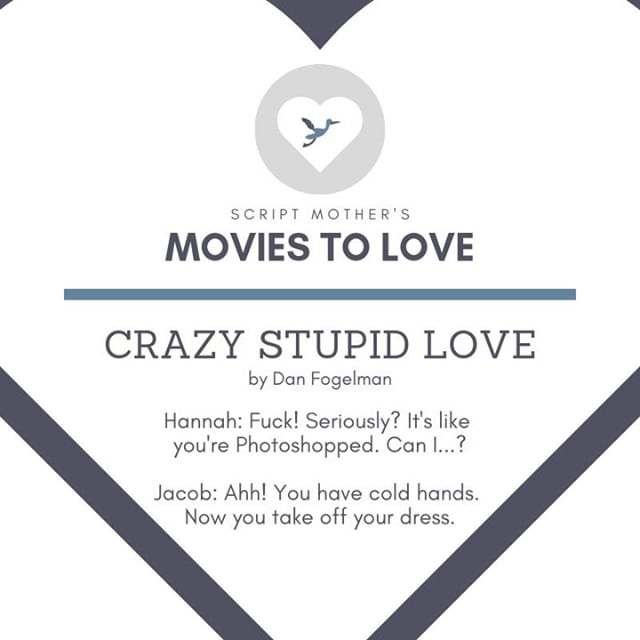 """@Dan_Fogelman wrote """"Crazy, Stupid, Love."""" in 2011, and it's been a classic ever since! What's your favorite quote from the movie?"""