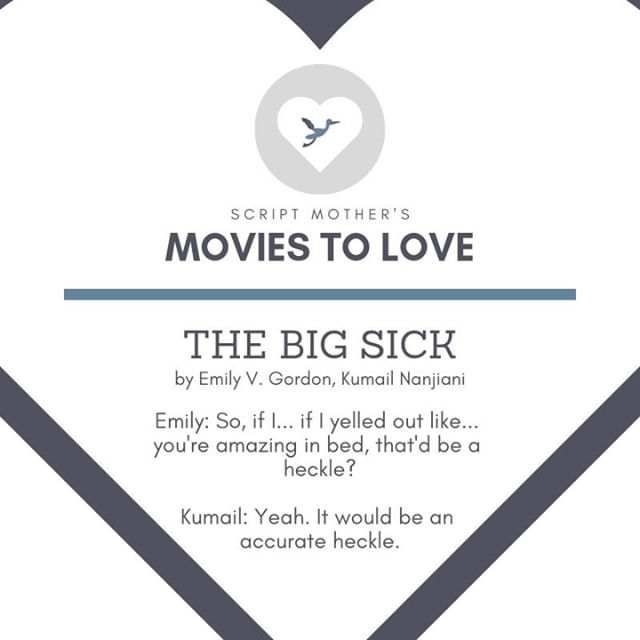 @TheBigSickMovie is written by couple and writing duo @emilyvgordon and @kumailn about their real-life experiences. No wonder it made our list!