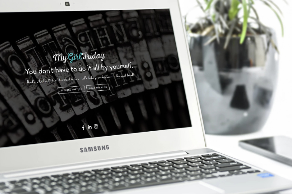 WEB DESIGN ($700) - Generously donated by My Girl Friday