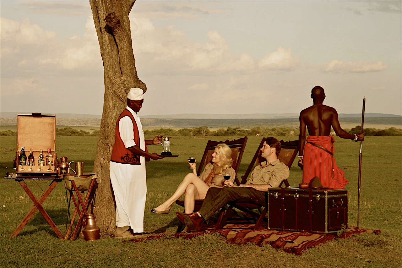 From 'Out of Africa' comes the inspiration for an authentic experience from the 'Golden Age of Safari.""