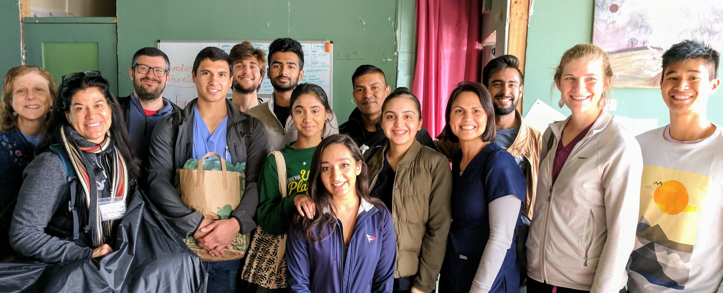 A team of doctors from San Diego and the Bay Area provided medical services for asylum seekers.