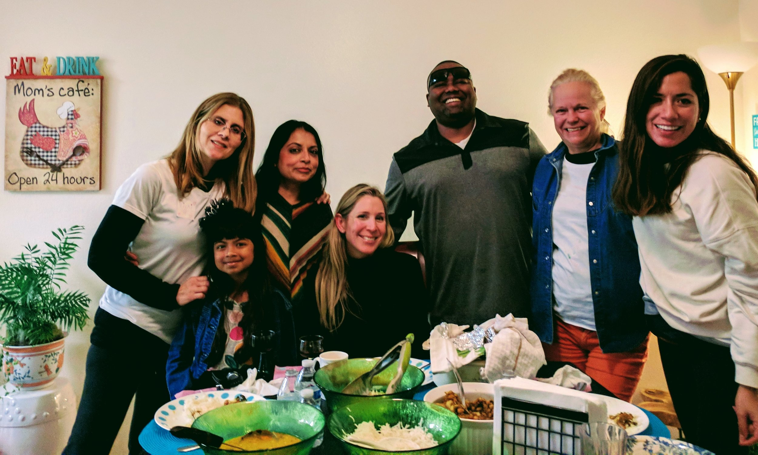 Shalini Sangita Prasad and family hosted us on our last night including a special Fijian dinner.