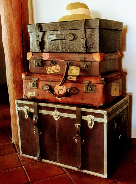 It's a traveler's home…