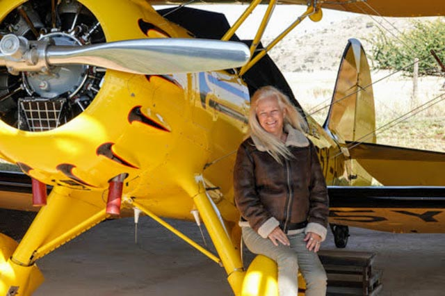 Or, opt for the add-on of game viewing in an open-cockpit biplane!