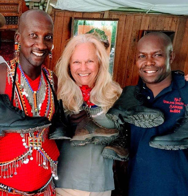 The local Maasai chief gazetted the land to Don because of his teamwork with the Maasai.