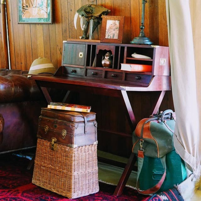 Don Young recreated designs used by explorers and settlers.