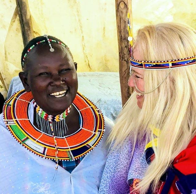 …and dress as a Maasai, if you wish.