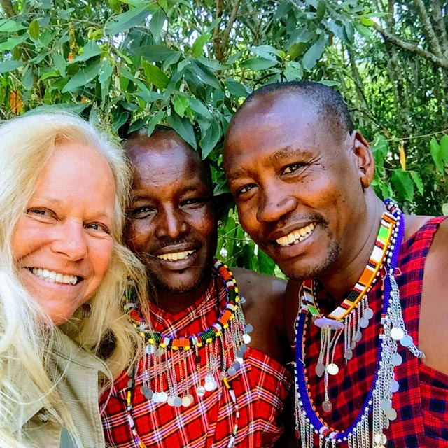 Today's highlight is delving into Maasai culture.