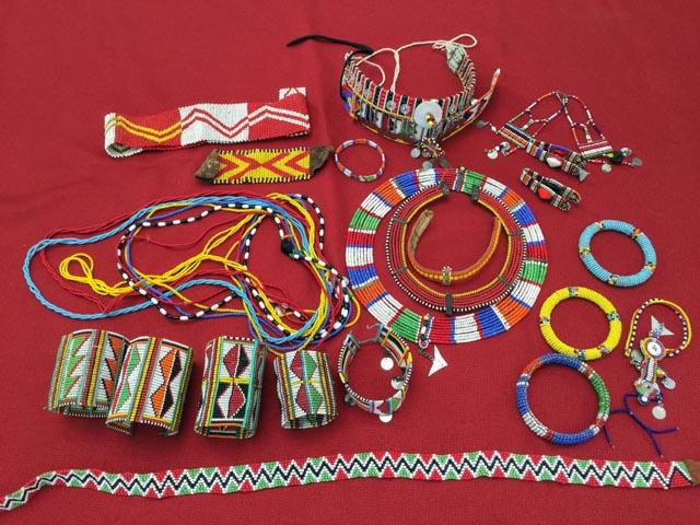Shop for Maasai jewelry…
